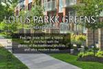 Lotus Parkk Greens - New Project