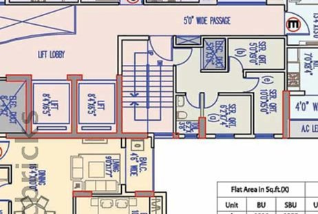 3 BHK Multistorey Apartment for Sale in Merlin Legacy at Entally-Image