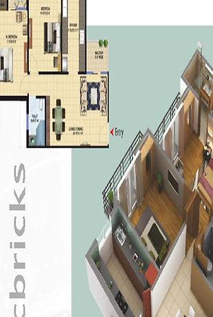 4 BHK Villa in Paramount Golfforeste at Site-C Residential-Image