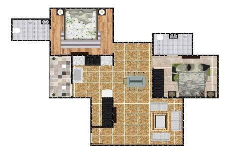 2 BHK Multistorey Apartment in Safal Sameep at South Bopal, Bopal-Image
