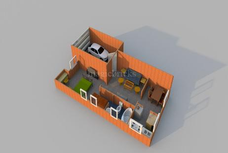 1 BHK Villa for Sale in Spring Vista at pollachi-Image