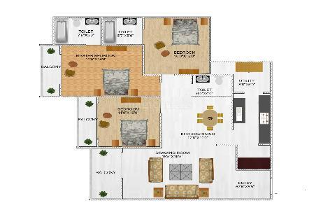 3 BHK Multistorey Apartment in Sai Simran Residency at Chandkheda-Image
