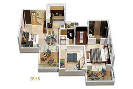 2 BHK Multistorey Apartment in Sai Platina at Ravet, Pimpri Chinchwad-Image