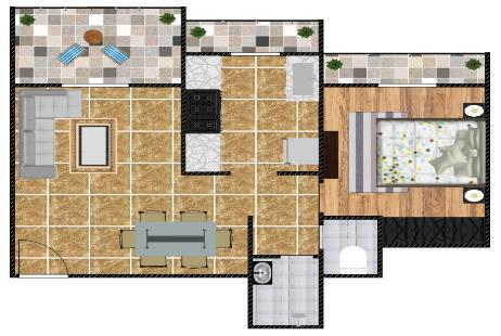 1 BHK Multistorey Apartment for Sale in Vardhaman Park at Shahad-Image