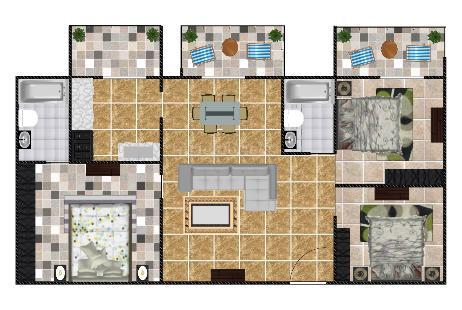 3 BHK Multistorey Apartment for Sale in President Leon at Yelahanka-Image