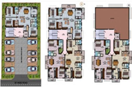 3 BHK Multistorey Apartment in Ascent JR Anugraham JR Graham and Narayaneeyam at Medavakkam-Image