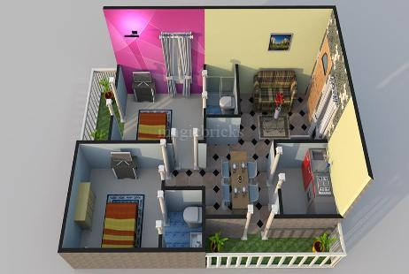 2 BHK Multistorey Apartment in Suvarna Srinivasam at Gajwaka Jn.-Image