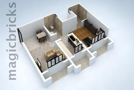 1 BHK Multistorey Apartment in Swaroop Residency at Ghatkopar East-Image