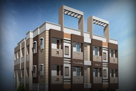 3 BHK Multistorey Apartment in Athulyam Apartments at Medavakkam-Image