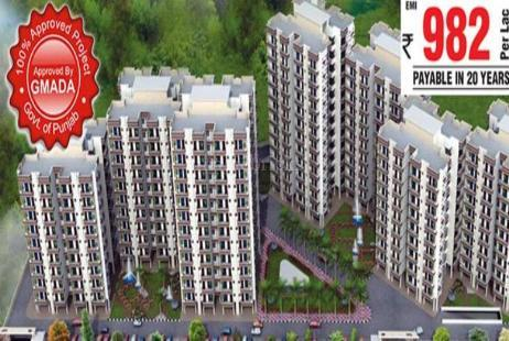 3 BHK Multistorey Apartment in Central Greens  at Sector-86-Image