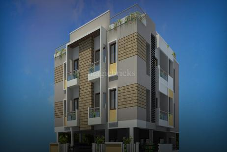 3 BHK Multistorey Apartment in LCS Shakthi at Besant Nagar-Image