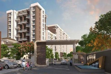 2 BHK Multistorey Apartment in Nirmaann Serrene at Undri-Image