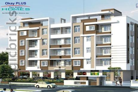 2 BHK Multistorey Apartment for Sale in Okay Plus Hare Krishna Homes at Mansarovar-Image