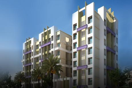 2 BHK Multistorey Apartment in Omkar Heights at Titwala-Image