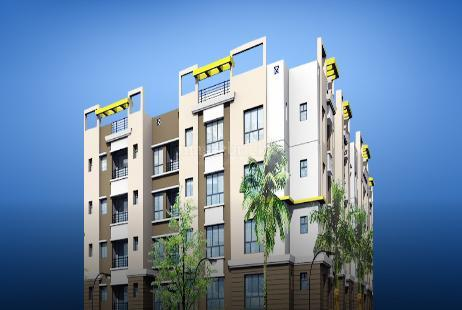 2 BHK Multistorey Apartment in Parvati Garden at Birati-Image