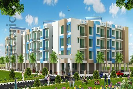 1 BHK Multistorey Apartment for Sale in Prayag Aangan at New Panvel-Image