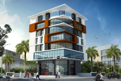 Commercial Office Space in R K One at Rasta Peth-Image
