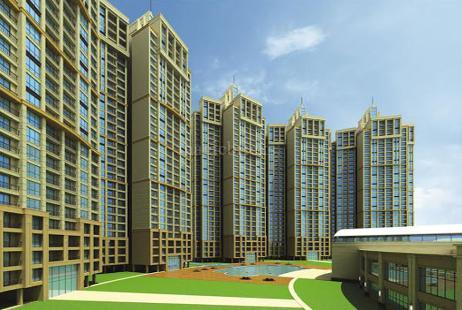 2 BHK Multistorey Apartment for Sale in Sai World City at New Panvel-Image