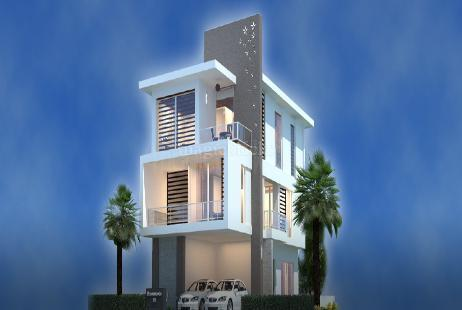 3 BHK Villa in Shanta Sriram Brookwoods at Appa junction-Image
