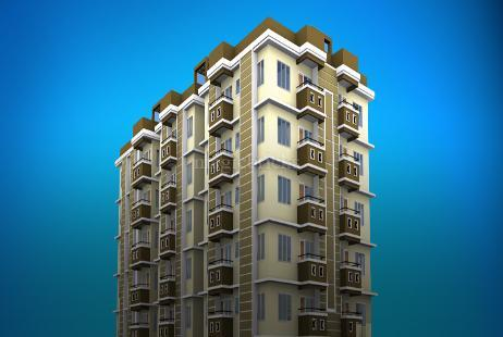 3 BHK Multistorey Apartment in Srishti Shreejoni at Dharapur-Image