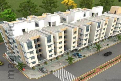 2 BHK Multistorey Apartment for Sale in Tulsi Aangan at Waghodia Road-Image