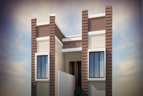 1 BHK Villa in Fresco Palm City at Joka-Image