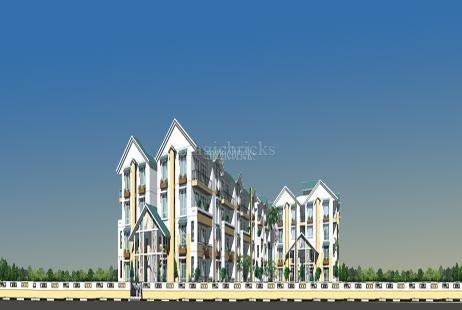 2 BHK Builder Floor Apartment in Rock Cliff at Appa junction-Image