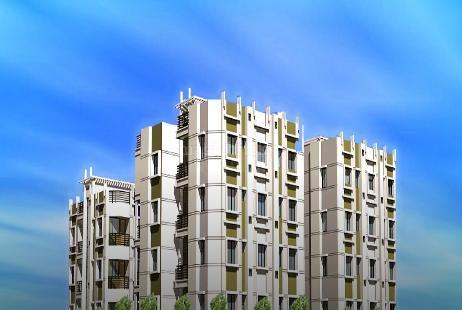 3 BHK Multistorey Apartment in Balaji Tower at Kalikapur-Image