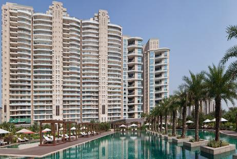 3 BHK Multistorey Apartment in Carlton Estate at Dlf City 5, Sector 43-Image