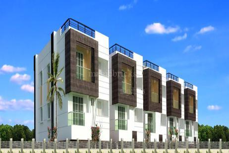 2 BHK Residential House in Color Fields at Sholinganallur-Image