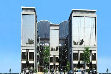 Commercial Office Space for Rent in Titanium City Centre at Satellite-Image