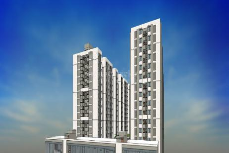 2 BHK Multistorey Apartment in Aarohi Elysium at South Bopal, Bopal-Image