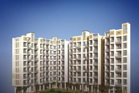 1 BHK Multistorey Apartment in Rukmini Garden at Titwala-Image