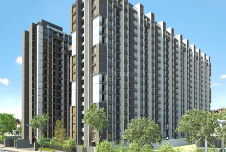 2 BHK Multistorey Apartment in Orchid Greenfield at Sardar Patel Ring Road-Image
