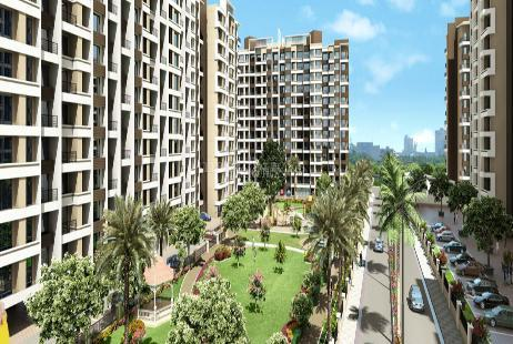 2 BHK Multistorey Apartment for Rent in Regency Sarvam at Titwala-Image