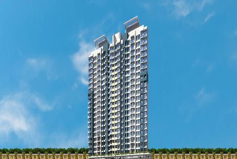 1 BHK Multistorey Apartment in Sun Gates at Malad East-Image
