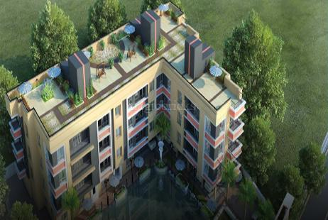 2 BHK Multistorey Apartment in Bhawani Lakeview at Birati-Image