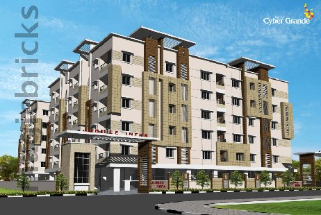 3 BHK Multistorey Apartment in Jubilee Cyber Grande at Madhapur-Image