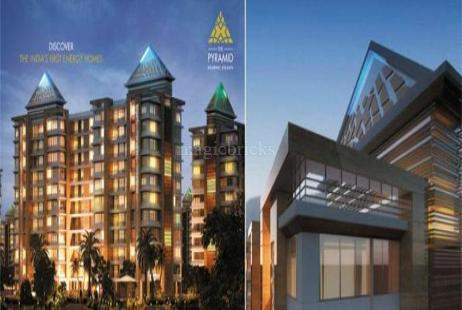 2 BHK Multistorey Apartment in The Pyramid at Rajarhat-Image