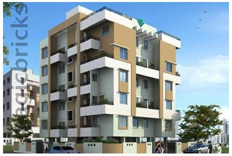 1 BHK Multistorey Apartment in Emerald Phase II at Wakad, Pimpri Chinchwad-Image